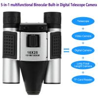DT08 Binocular Built-in Digital Telescope Camera Far Shoot 1.3MP Video Recorder 10x25 101M/1000M outdoor camping hiking Manufactures