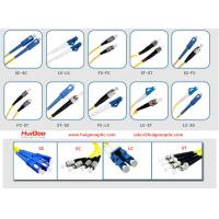 Fiber optic patch cord Fiber Optic Patch Cables Single Mode Multimode Jumpers Manufactures