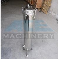 China Factory Supply Liquid Treatment Device Stainless Steel Bag Filter Ss304/316 Bag Stainless Steel Filter Housing on sale