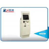 22 inch electronic Windows self service kiosk terminal with bill acceptor Manufactures