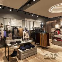 Morden design teen clothing store/teenage clothes shop with lights Manufactures