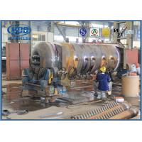 Coal Fired Power Plant Power Boiler Header Manifolds ASME Standard Carbon Steel Manufactures