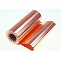 Soft Rolled Copper Foil For Electomagnetic Shielding Material and thickness 10um 18um 35um 70um Manufactures