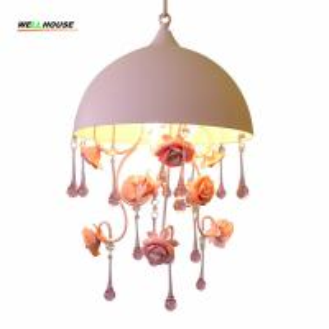 Crystal chandelier lighting indoor home lighting hanging lamp lustres para sala Bedroom Kitchen Kids room light Manufactures