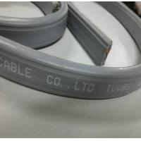 Flat Elevator Cable with TV coaxial Cable with POWER Cable Manufactures