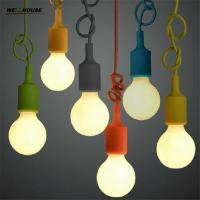 Colorful Pendant Lamp Modern Vintage Bar Restaurant Bedrooms Large Shopping Mall Muuto E27 Art Pendant Light(DO-61) Manufactures