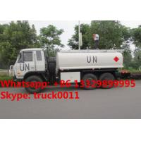 Quality Factory sale Bottom price dongfeng 6x6 fuel truck tanker for sale, HOT SALE! UN customized dongfeng 6*6 LHD fuel dispens for sale