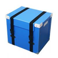 ISO9001 Plastic Coroplast Box , Customized Collapsible Storage Boxes With Lids Manufactures