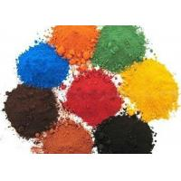 Red / Black / Yellow / Green and Blue Powder For Color Cement Manufactures