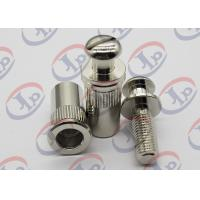 + - 0.1 mm Tolerance Metal Machining Services Chromium Plated Iron Bolt Nut Components Manufactures