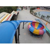 Quality Water Play Amusement Super Space Bowl Slide For Aqua Park 1 Year Warranty for sale