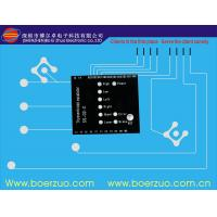 Industrial Flexible Metal Dome Backlit Membrane Switch Panel Adhesive 3M Manufactures