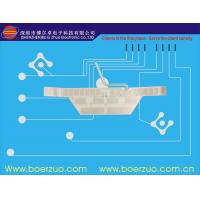 3M Adhesive Electronic Faceplate Label Membrane Switch With Embossed Keypad Manufactures
