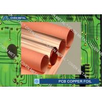 Roll Size S - HTE Electrolytic Copper Foil For PCB  Made Of Red Copper Manufactures