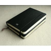 Buy cheap PU leather A5 or A4 Business embossed Custom Printed Notebook with gloss from wholesalers