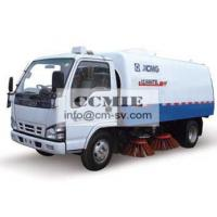 Stainless Steel Special Vehicles , Urban Road Cleaning Street Sweeper Truck Manufactures