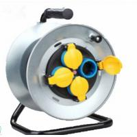 China 250V 16A Electrical Extension Cord Reel , Waterproof Extension Cable Drum With Cover on sale