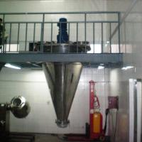 Double Screw Conical Screw Mixer , Vertical Powder Mixer For Chemical Powder Manufactures