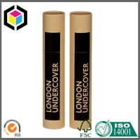Factory Supply Brown Color Paper Packaging Tube; Mailing Tube with Cap Manufactures
