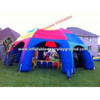 Durable Rain Proof Inflatable Tent , Inflatable Event Tent With 0.6mm PVC Tarpaulin Manufactures