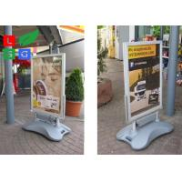 Energy Saving LED Poster Display Pavement Sign Board For Shopping Mall Advertising