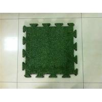 China High Density Durable Synthetic Turf Lawn , Artificial Turf Underlay Water Penetration on sale