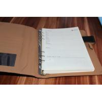 Customized cow leather hardcover notebook manufacturer Manufactures