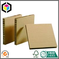 Buy cheap Brown Surface Kraft Paper Honeycomb Board; Strong Quality Honeycomb Sheet from wholesalers