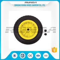 Inflatable Pneumatic Rubber Wheels 16mm Inner Hole Plastic Rim Bush Bearing 3.50-8 Manufactures