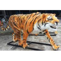 China Amusement Park Realistic Animatronic Animals / Tiger With Remote Controller on sale