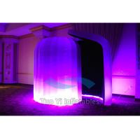 Advertising Portable Blow Up Photo Booth Enclosure With Repair Material Patch Manufactures