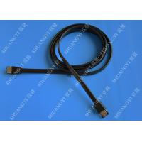SATA 3.0 Slim Flexible External SATA Cable , PC Powered ESATA Cable Manufactures