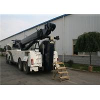 KaiFan Heavy Duty H Series VOLVO Chassis Road Wrecker Truck 3 Person 8x4 Drive Manufactures