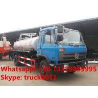 hot sale best price dongfeng 153 10 cubic meters fecal suction truck, dongfeng 4*2 190hp diesel vacuum truck for sale Manufactures
