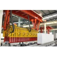 Industrial AAC Block Machine , AAC Block Manufacturing Unit 12 Person Labor Required Manufactures
