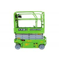 IPAF Member MEWPs AWP 20ft 6m Small Scissor Lift Elevated Work Platform For Indoor Building Manufactures
