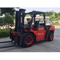 8.5 Ton Heavy Duty Forklift, Diesel Engine Forklift Truck Clearance Buffering Structure Manufactures