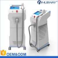 Vertical style import laser bar professional 808nm diode laser hair removal machine Manufactures