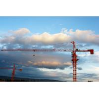 Steel Mast Section Building Construction Cranes Rentals , Hydraulic Tower Crane Lifting Manufactures