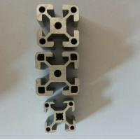 Clear / Silver Extrusion Industrial 6005 Aluminum Profile , Alum Extrusion Profile For Windpipes Manufactures