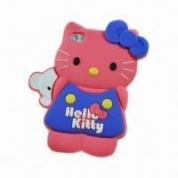3D Stereoscopic Cartoon Case for iPhone 4/4S in Stock, Various Colors Available Manufactures