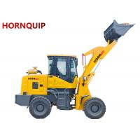 HORNquip 1.8 Ton Front End Wheel Loader 930L Color Customized With 1.0m3 Bucket Manufactures