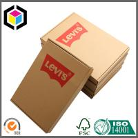 Online Store Corrugated Cardboard Shipping Box; Red Color Shipping Box Manufactures