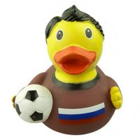 Quality OEM Floating Football Custom Rubber Ducks 9P Free For Super Market / Toys Retail for sale