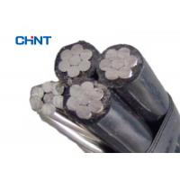 XLPE Insulated Aerial Bundled Cable , Standard Aerial Cable 1kV Rated Voltage Manufactures