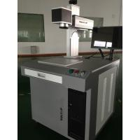30W Plastic Materials Fiber Laser Marking System CE Approved IPG Manufactures