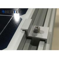 Durable Aluminium Solar Roof Mounting Systems Pv End Clamp Customized Dimensions Manufactures