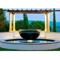 Mirror Polished Stainless Steel Outdoor Water Features Hemisphere Shape Manufactures