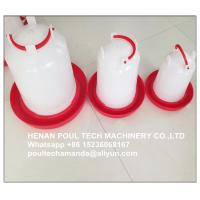 Quality Poultry Farm White Plastic Baby Chicken Waterer & Day Old Chicken Drinker for Chicken Deep Litter System for sale