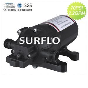 SURFLO High pressure Micro Diaphragm Pump 12v dc for Marine Yacht motorhome RV 2.5GPM Manufactures